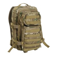 US рюкзак ASSAULT PACK SM. Камуфляж MULTITARN. Mil-Tec